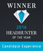Headhunter of the Year Award Candidate Experience 2016