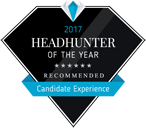 Headhunter of the Year Award Candidate Experience 2017