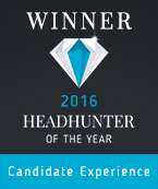 Headhunter of the Year Award Candidate Experience